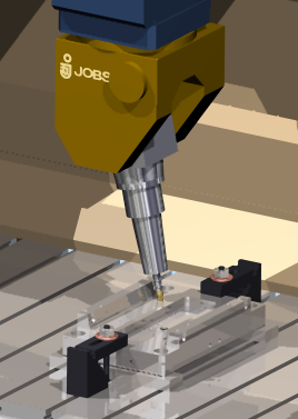 JOBS 5 axis mill